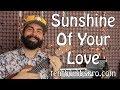 Sunshine Of Your Love Cream Ukulele Tutorial With Tabs mp3
