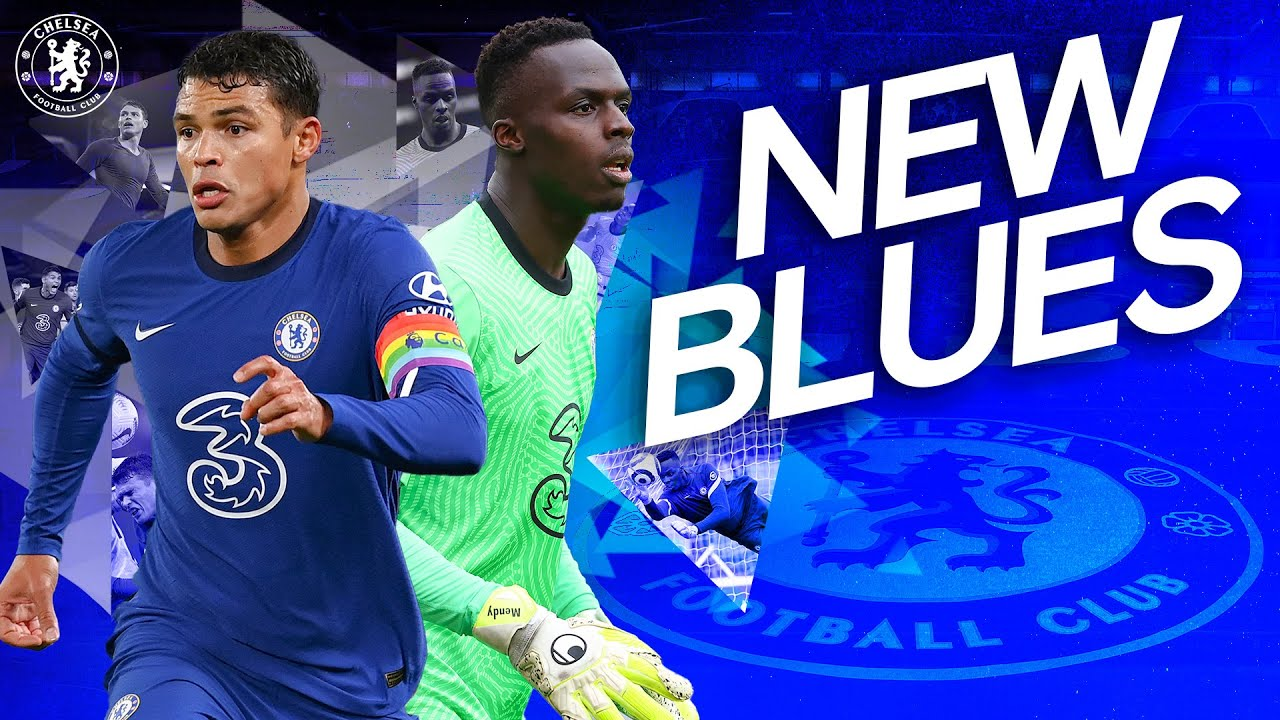 Thiago Silva and Edouard Mendy's Best Bits For Chelsea So Far | New Blues