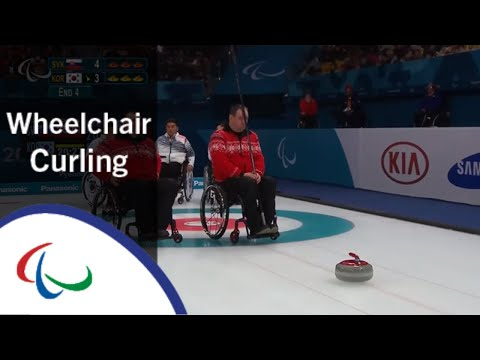 Wheelchair curling: Slovakia v Korea | Round Robin | PyeongChang2018 Paralympic Winter Games | LIVE