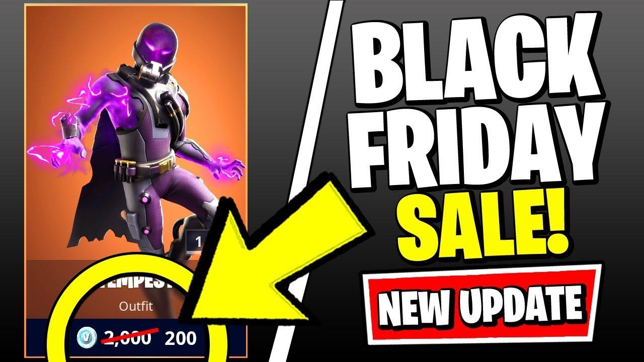 New Fortnite Update Black Friday Sale Item Shop Map Changes More Fortnite V11 11 Patch Youtube