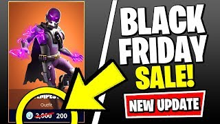 *NEW* FORTNITE UPDATE - BLACK FRIDAY SALE ITEM SHOP, MAP CHANGES & MORE (Fortnite v11.11 Patch)