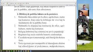 07 La Fundamenta Instruo de Ŭonbulismo | 에스페란토 원불교 정전 공부 (zoom)