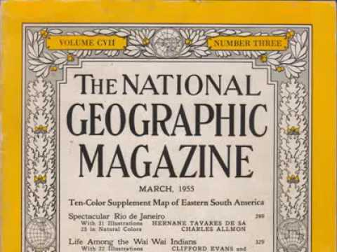 National Geographic March 1955 A.G. Bell/Clarke School