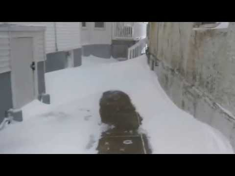 Blizzard of 2015 - 27 January 2015 - Winthrop, MA