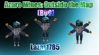 [ROBLOX] Azure Mines: Outside the map BUG