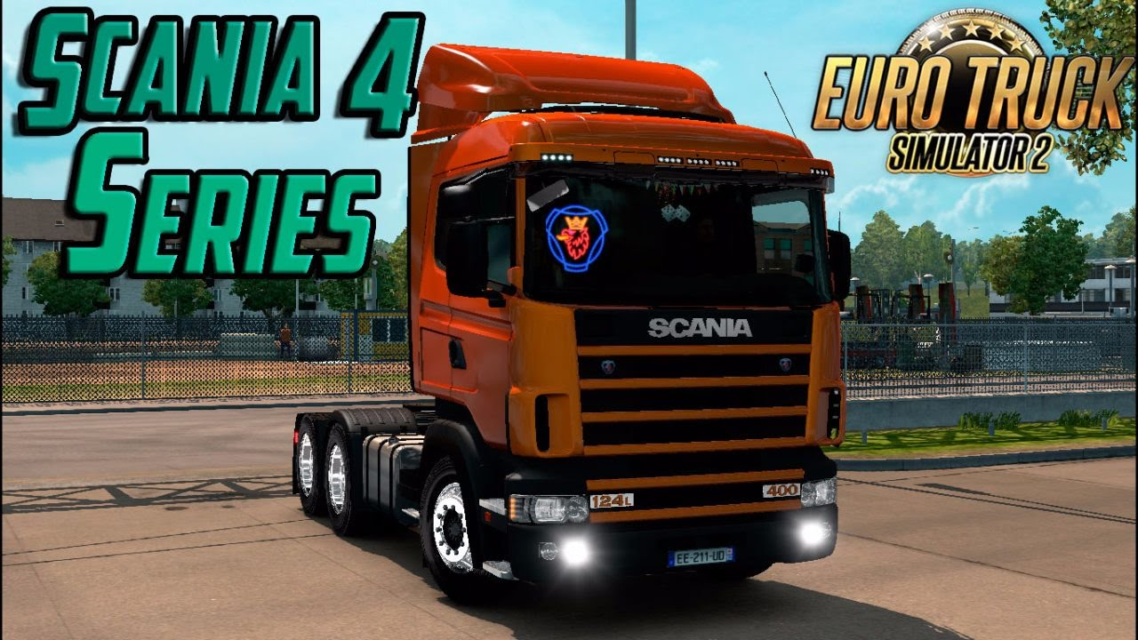 euro truck simulator 2 mod scania 4 series v2 0 youtube. Black Bedroom Furniture Sets. Home Design Ideas