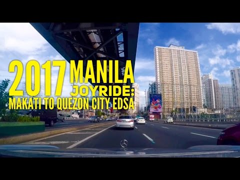 2017 Manila Joyride Makati to Quezon City via EDSA 15 Minutes by HourPhilippines.com