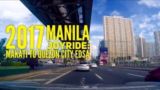 2017 Manila Joyride Makati to Quezon City via EDSA 15 Minutes by HourPhilippines.com