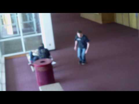 Dallin Dragon's school freerunning