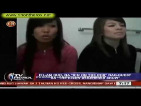 """Rin on the Rox """"hiphoprox"""" on TV Patrol Entertainment News Philippines (Watch in HD) (02/06/09)"""