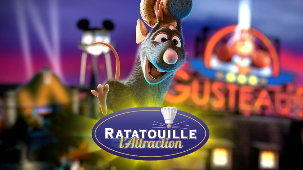 ratatouille l 39 attraction disneyland paris youtube. Black Bedroom Furniture Sets. Home Design Ideas