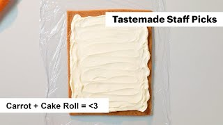 How to Make a Beautiful Carrot Cake Roll with Cream Cheese Filling