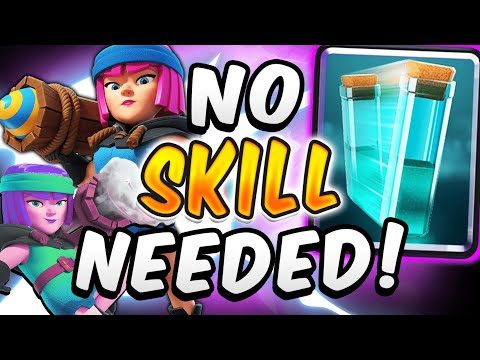CRAZY FIRECRACKER CLONE! DIRTIEST DECK IN CLASH ROYALE! — Clash Royale