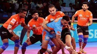 Pro Kabaddi 2018 Highlights   U Mumba vs Bengal Warriors   Hindi