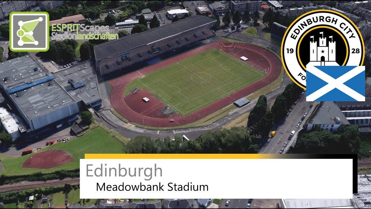 Meadowbank Stadium - Stadion in Edinburgh