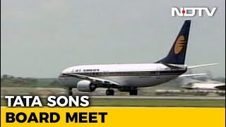 Tata Sons Board Discusses Jet Airways Merger Deal