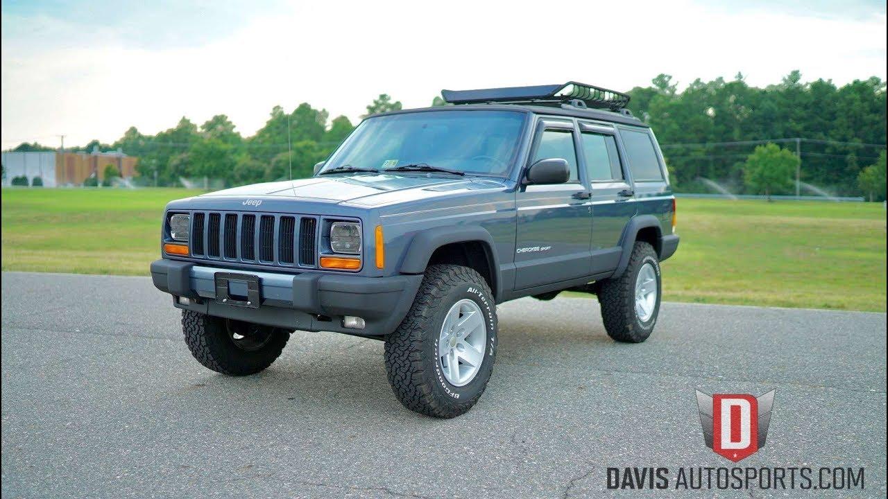 davis autosports 2001 jeep cherokee sport xj stage 2. Black Bedroom Furniture Sets. Home Design Ideas