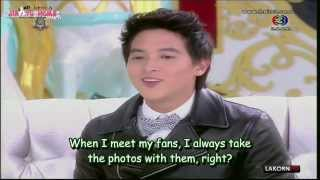 [Eng Sub]131023 Sam Sab - James Jirayu (2/3)