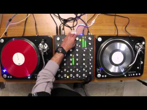 Probando la mezcladora Rane MP2015: Set de Dub Techno