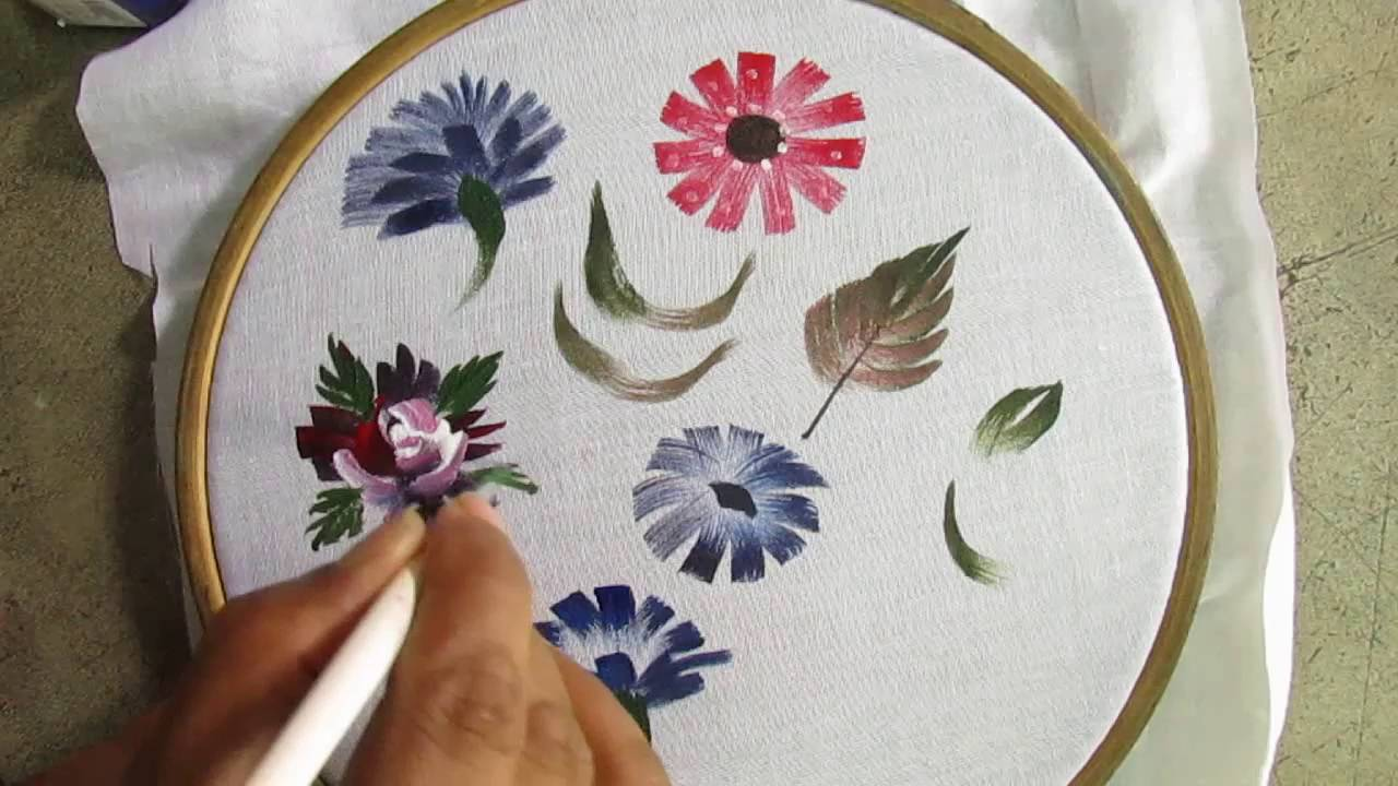 Fabric painting on clothes easy / Fabric painting for ... |Fabric Paint