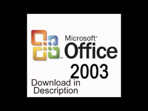 Microsoft Office 2003 Free Download Full Key YouTube