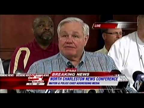 Walter Scott Shooting Full Press Conference - Live 5 News