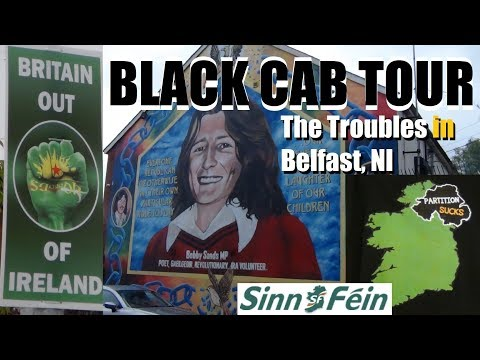 Europe 2019 (Pt. 73) - Black Cab Tour Of The Troubles In Belfast, Northern Ireland (UK)