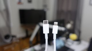 Review: USB-C to Lightning Cable - a must-have for the 12.9