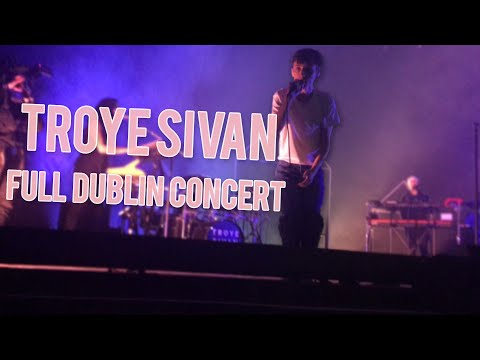 Troye Sivan - Dublin Full Concert (April 15th 2016)//(Front