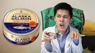 알래스카 연어캔은 어떤 맛일까? (Korean Alaska Salmon Can)