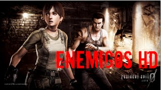 Resident Evil 0 ZERO HD Remaster Todos los Enemigos