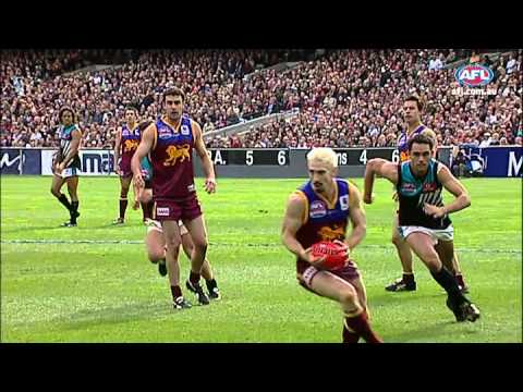 2004 AFL Grand Final highlights - Port Adelaide v Brisbane