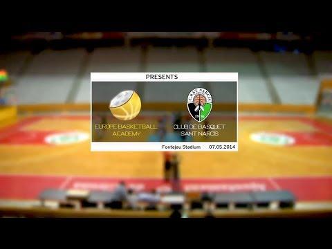 Europe Basketball Academy VS CB Sant Narcís