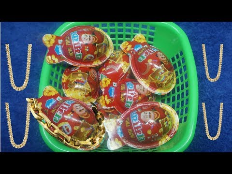 BASKET Full of Motu Patlu Candy's with Surprise Gold Chains and toys thumbnail