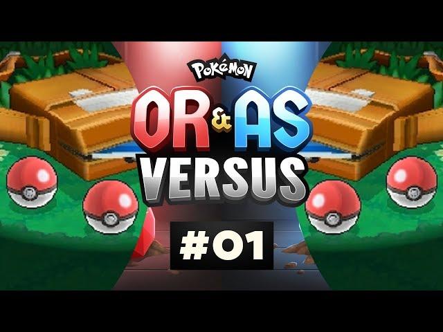 Pokemon ORAS Versus - EP01 | GARSH, WERE BACK!