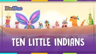 TEN LITTLE INDIANS - MPBaby English (Children