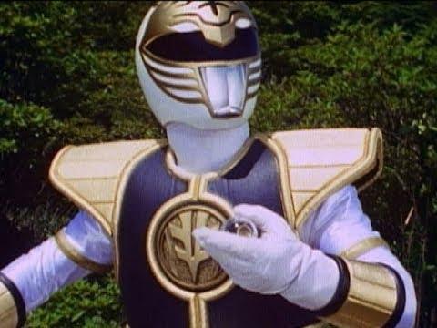 Mighty Morphin Power Rangers - White Light - White Ranger and Tigerzord's First Battle