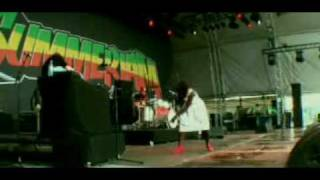 Jaqee on Summerjam 2009 Part 1 of 6 Natty Dread