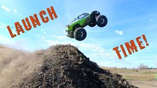 Launch Time - Traxxas Xmaxx 8s Bash Session | Rc Adventures