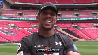ANTHONY JOSHUA - 'WHEN ARE AMERICAN FIGHTERS GONNA COME TO UK?'