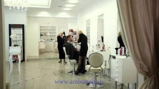 Ambassade de la Beaute (promo video on TV) Lat version