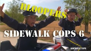 Sidewalk Cops | Episode 6 | Bloopers and Behind The Scenes! | Kids Videos | Police kIds