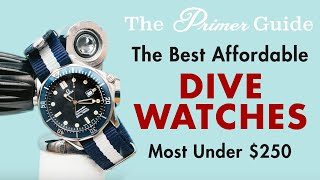 The Best Dive Watches Under $250 According to a Watch-Loving Diver