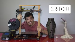 CR-10 3D Printer Unboxing/Review/Giveaway