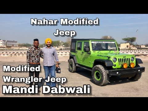 Jeep Wrangler Rubicon | 4x4 | Green Paint | 4 Door | Diesel Engine | Modified Bolero Into Wrangler