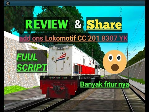 Share & REVIEW add ons loko cc 201 83 07 yk / TRAINZ SIMULATOR ANDROID - 동영상