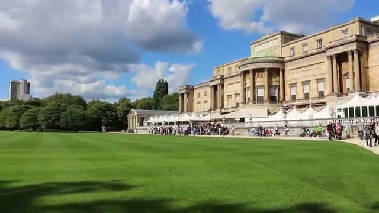 Buckingham Palace Gardens, London - YouTube