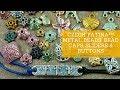 Czech Patina™ Metal Beads, Bead Caps, Sliders & Buttons