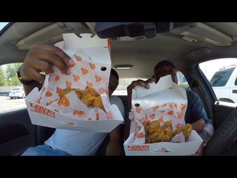Popeyes Food Review!!!