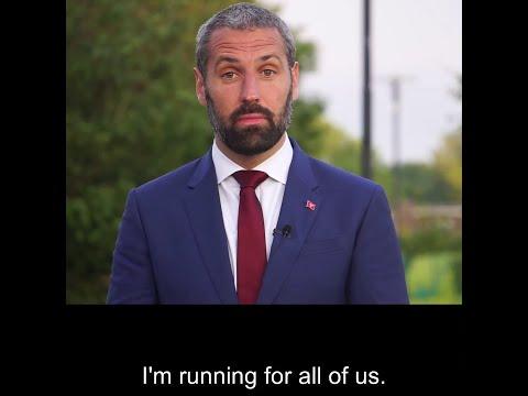 Michael Josem is running for All of Us for Douglas East